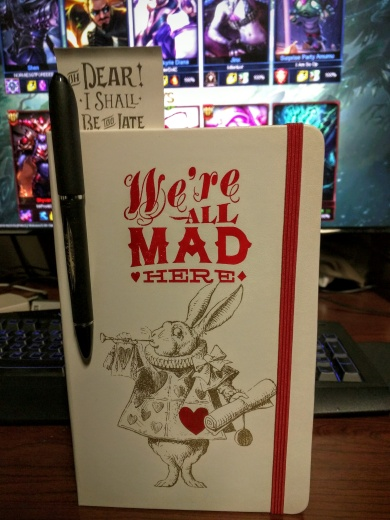 Moleskine Alice in Wonderland